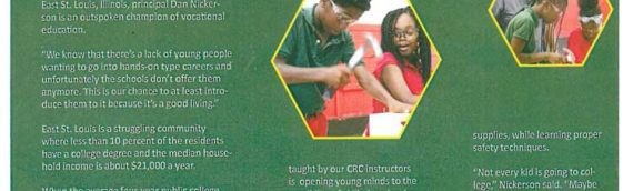 STBCS Offers Carpentry Class